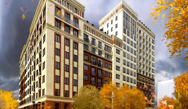 В Новосибирске построят 24-этажный комплекс апартаментов
