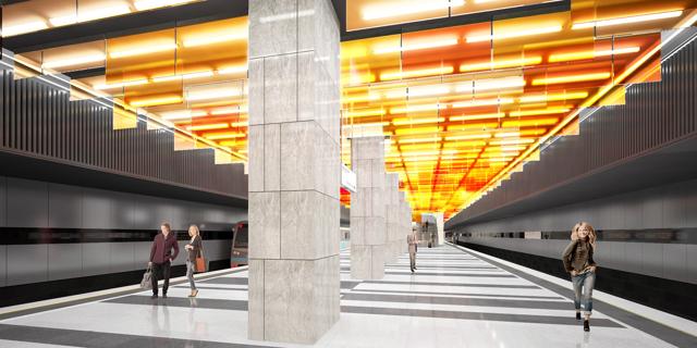 В Москве к 2018 году построят около 30 новых станций метро